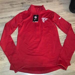 Women's Nike Atlanta Falcons Half Zip Pullover